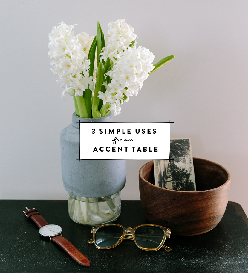 3 Simple Uses for an Accent Table with Pottery Barn | The Fresh Exchange