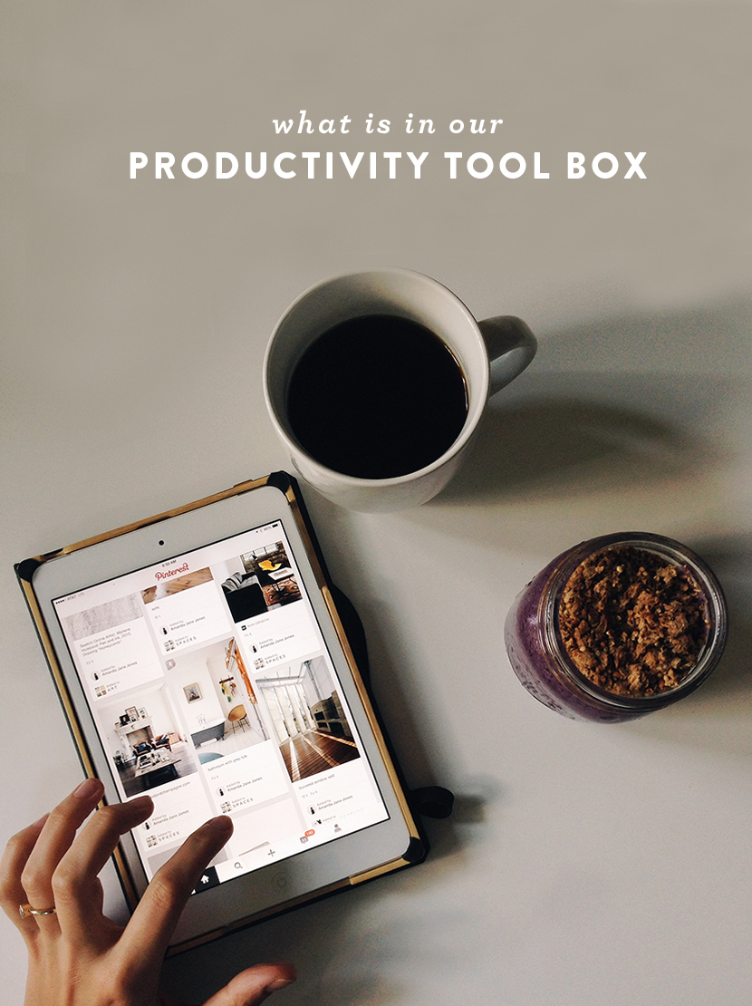 What is in our Productivity Tool Box  |  The Fresh Exchange