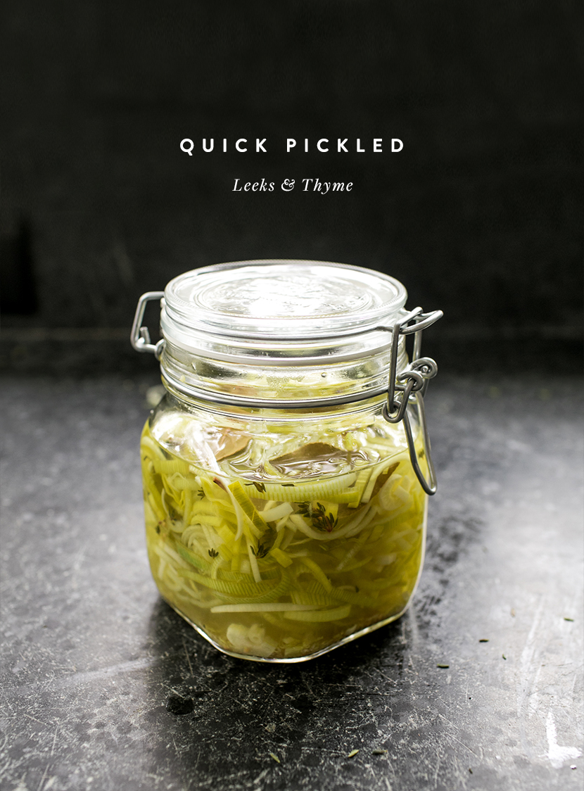 3 simple and easy quick pickle recipes to make the most of your spring produce. Get the three recipes on The Fresh Exchange.