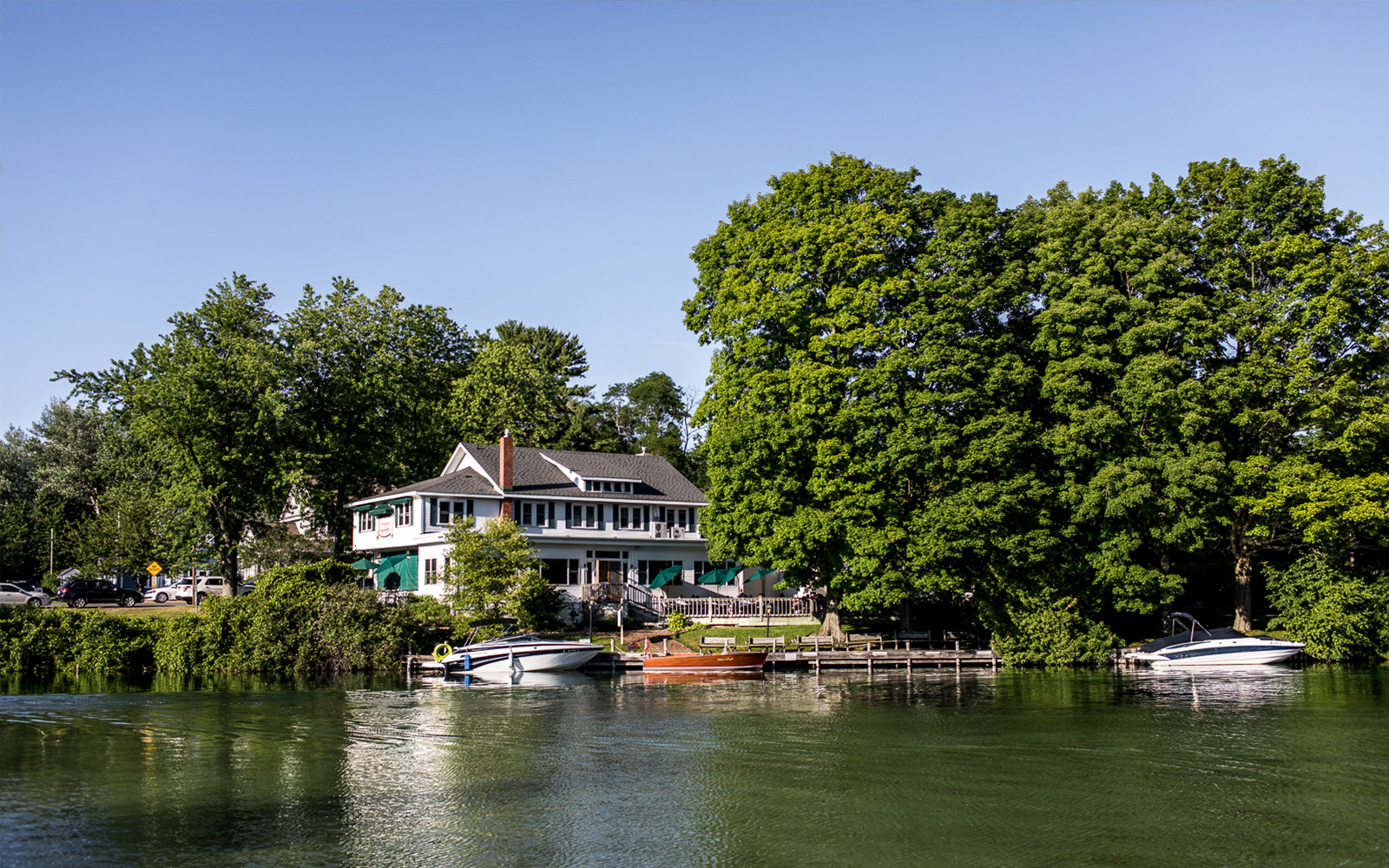 The Riverside Inn in Leland, Michigan. The best places to visit in Leelanau County.