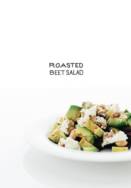 Roasted Beet Salad  |  The Fresh Exchange