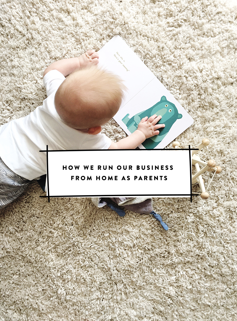 We run our business as a couple from home as parents to a 1 year old. Here is how we do it and still get things done while being present and chasing our dreams. More on The Fresh Exchange