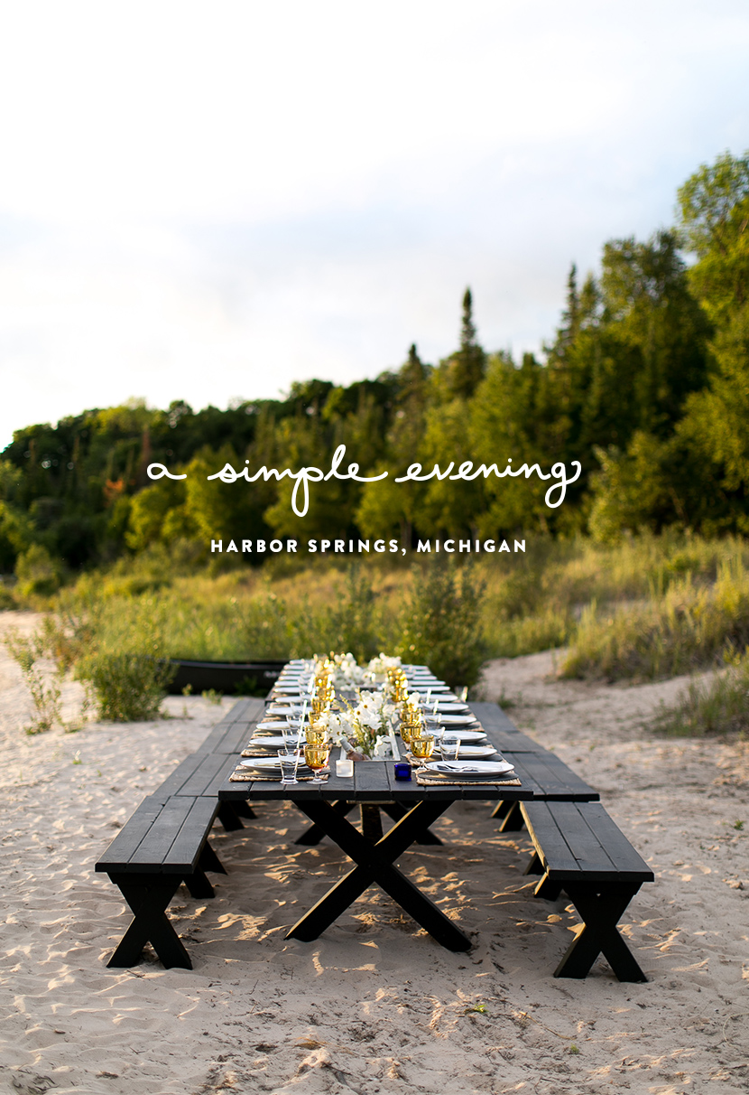 Simple Evening: Huzza and Stockyard in Harbor Springs, Michigan | The Fresh Exchange
