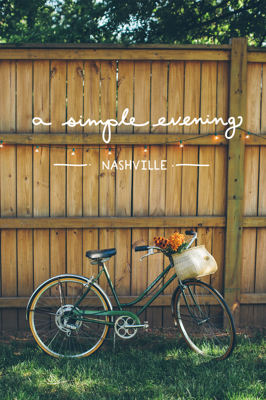 A Simple Evening  - Nashville  |  The Fresh Exchange