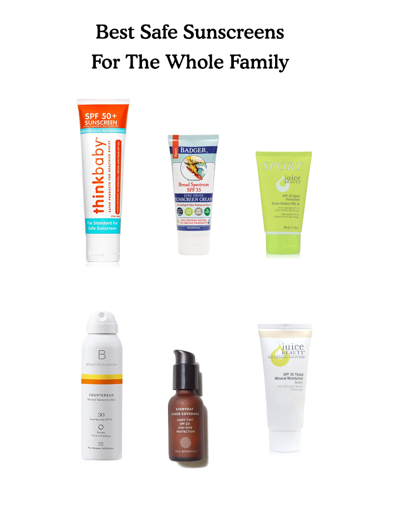 Best Safe Sunscreen for The Whole Family on The Fresh Exchange