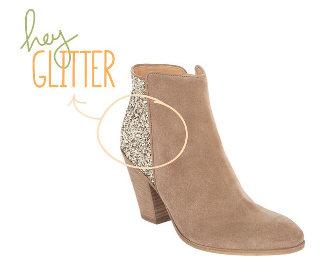 Classic Glitter Boots
