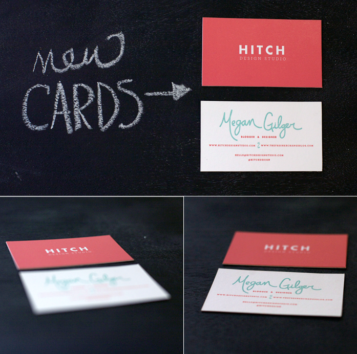 Hitch Design Studio Business Cards