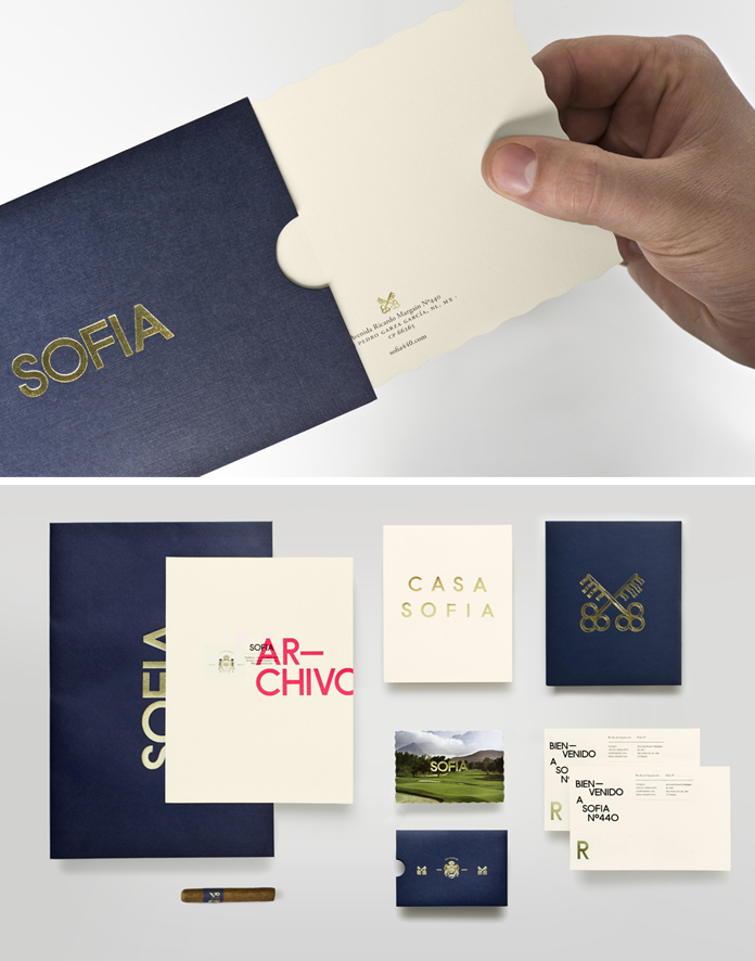 Sofia branding by Pelli Clarke