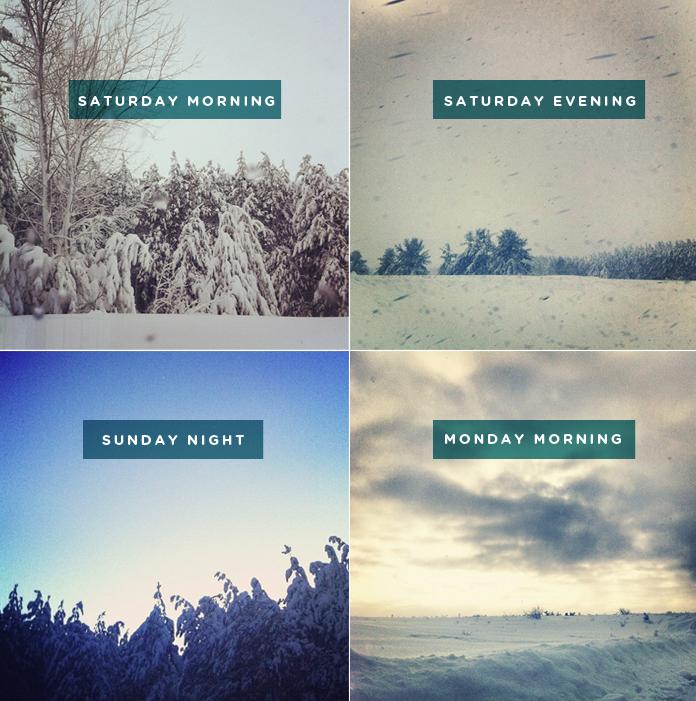 Northern MIchigan Snow