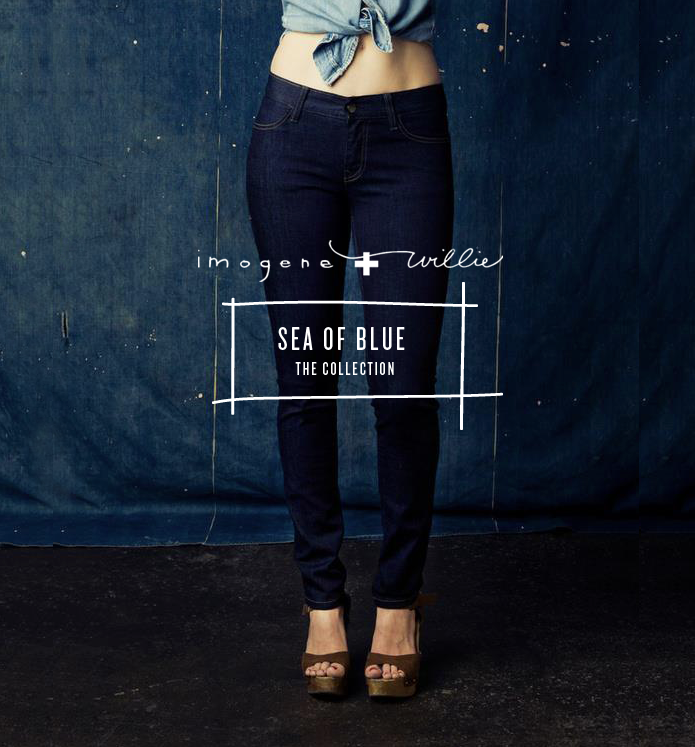 imogene + willie: sea of blue collection