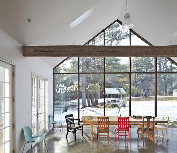Dwell, Farmhouse Modern, Windows,