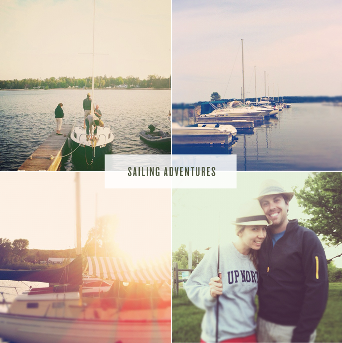 Sailing, Traverse City, Michigan, Suttons Bay, Summer, Sunset