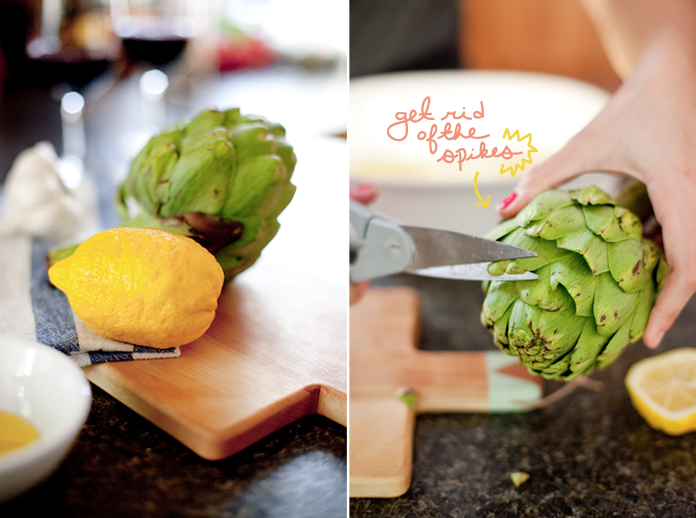 artichokes, the fresh exchange, simple recipes