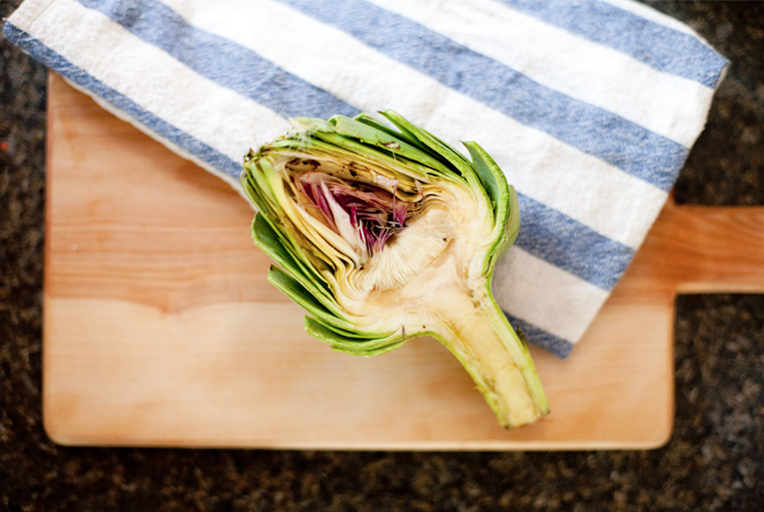 Simple Recipes, Artichokes, dinner, healthy