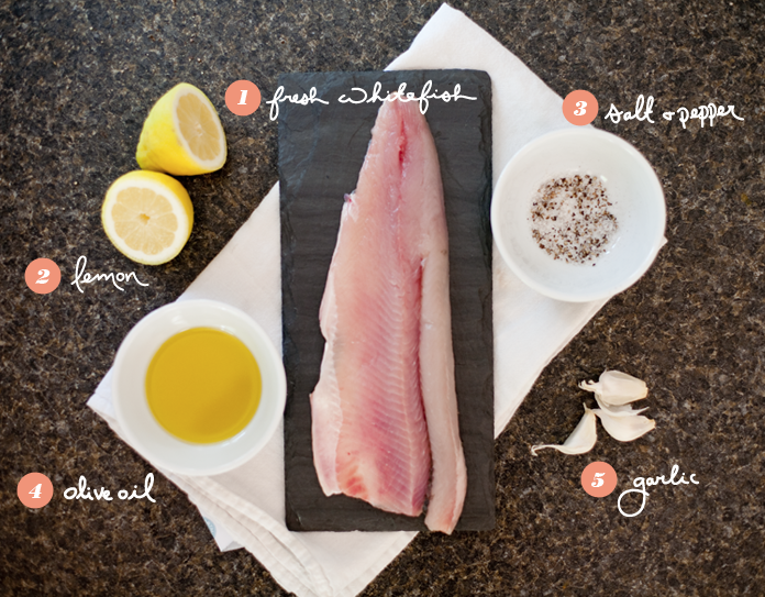 whitefish recipe, simple, easy, recipe, cheap, local, whole foods,