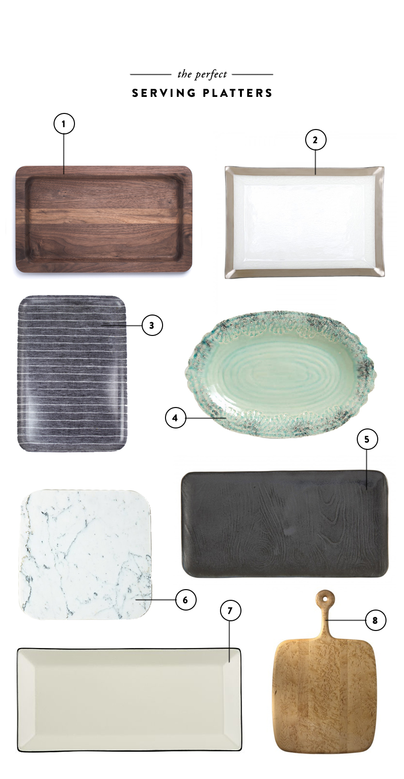 More than Ordinary: Serving Platters | The Fresh Exchange