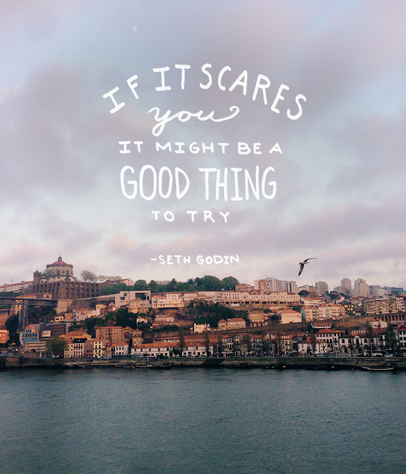 If It Scares you... | The Fresh Exchange