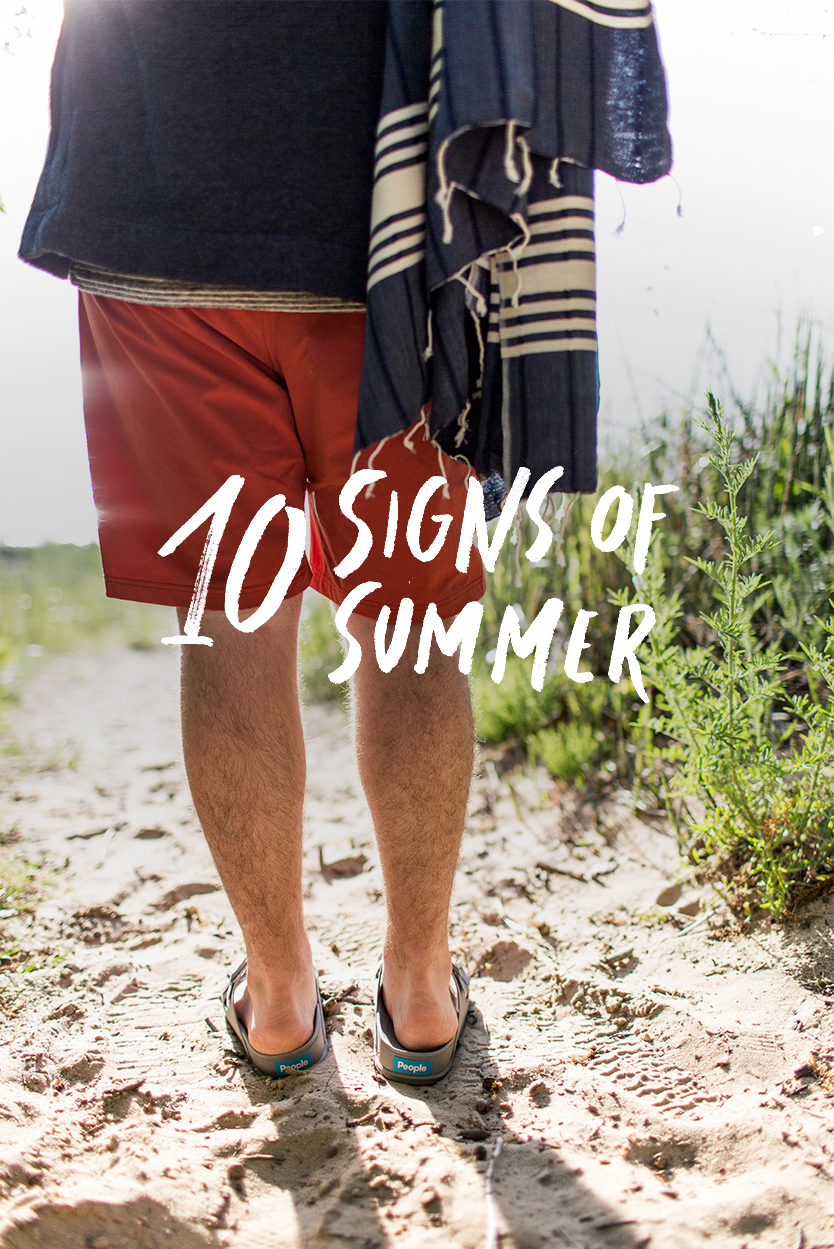 10 Signs of Summer to keep an out for as we enter June. Read about all of them on The Fresh Exchange