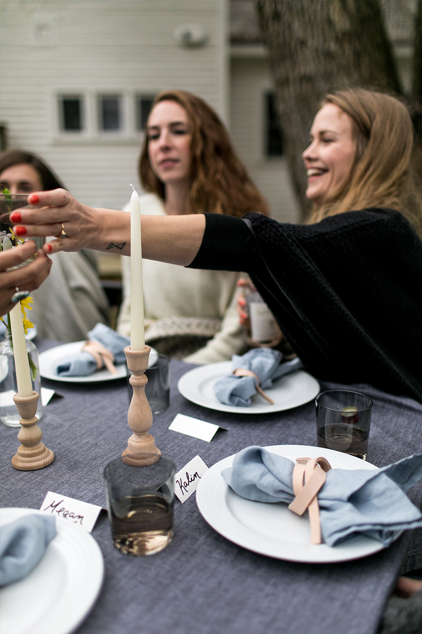 Gathering with ladies to ring in the warmth of a new season and make new friends in hopes of bringing new life and more laughs to the seasons ahead. See more on The Fresh Exchange.