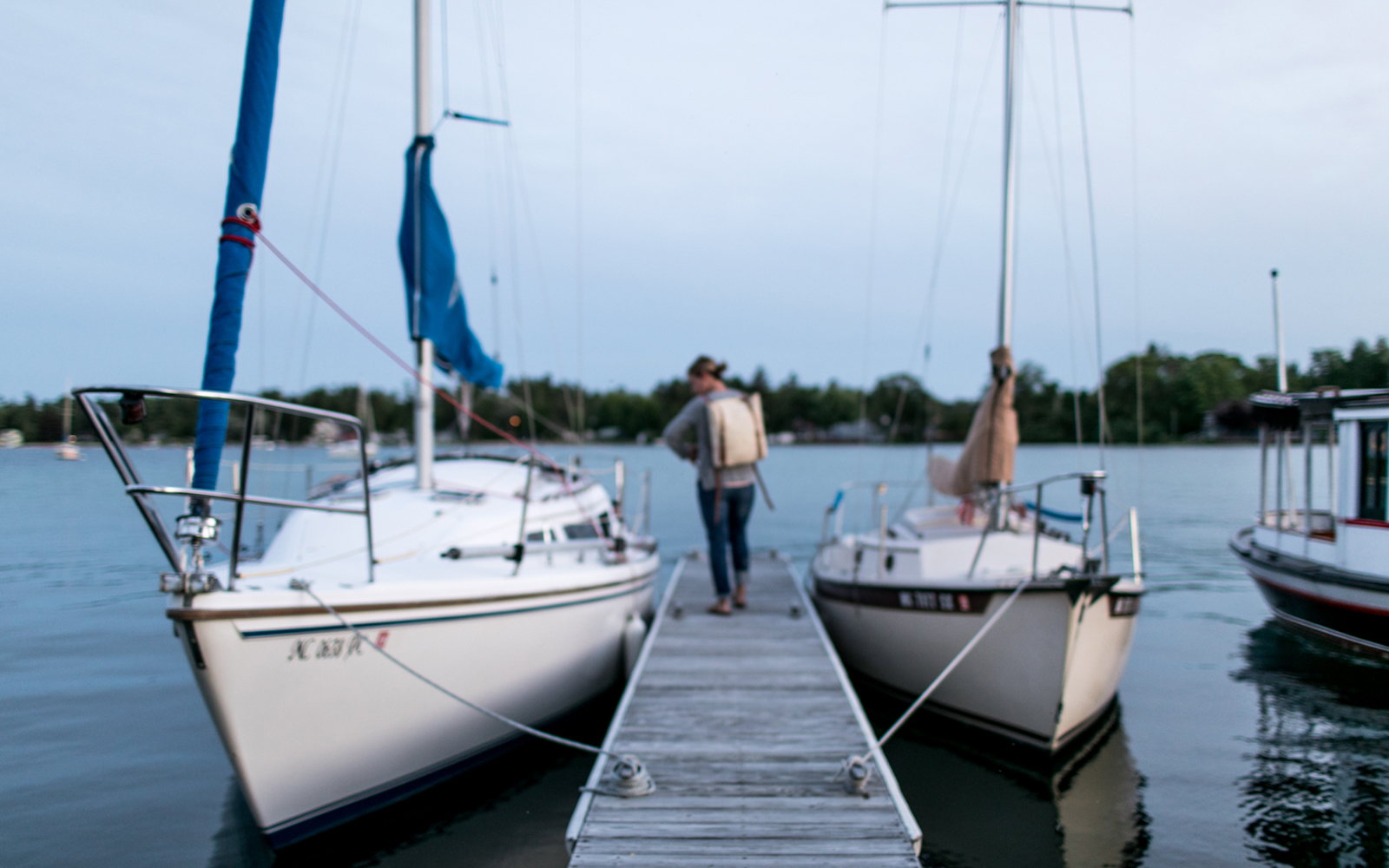 An ode to Summer evenings in Michigan. The Fresh Exchange