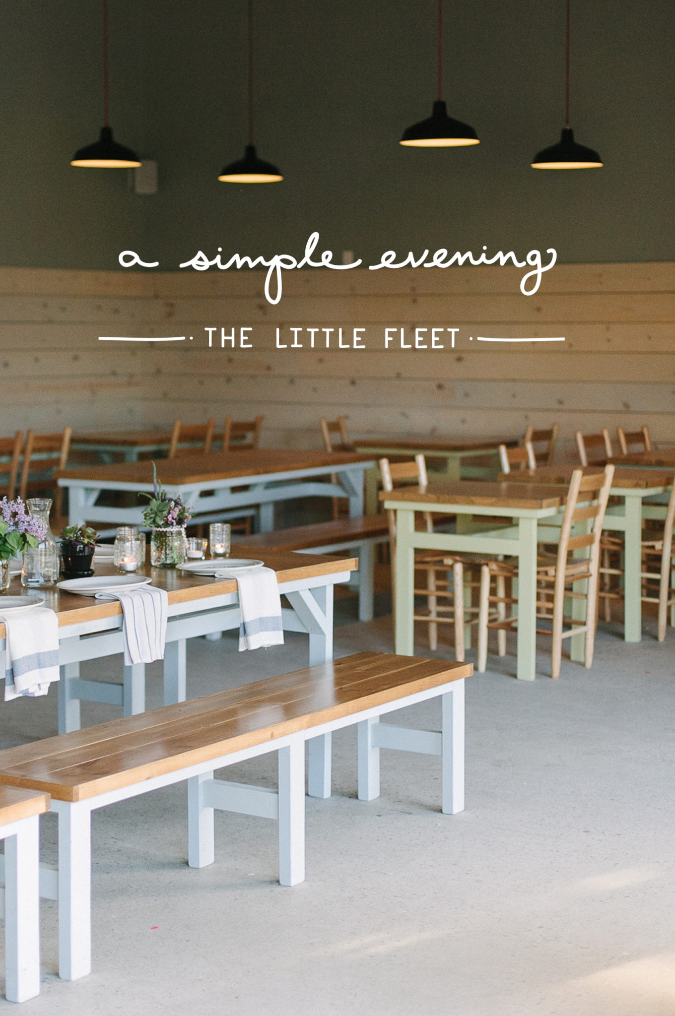 Simple Evening: The Little Fleet  |  The Fresh Exchange