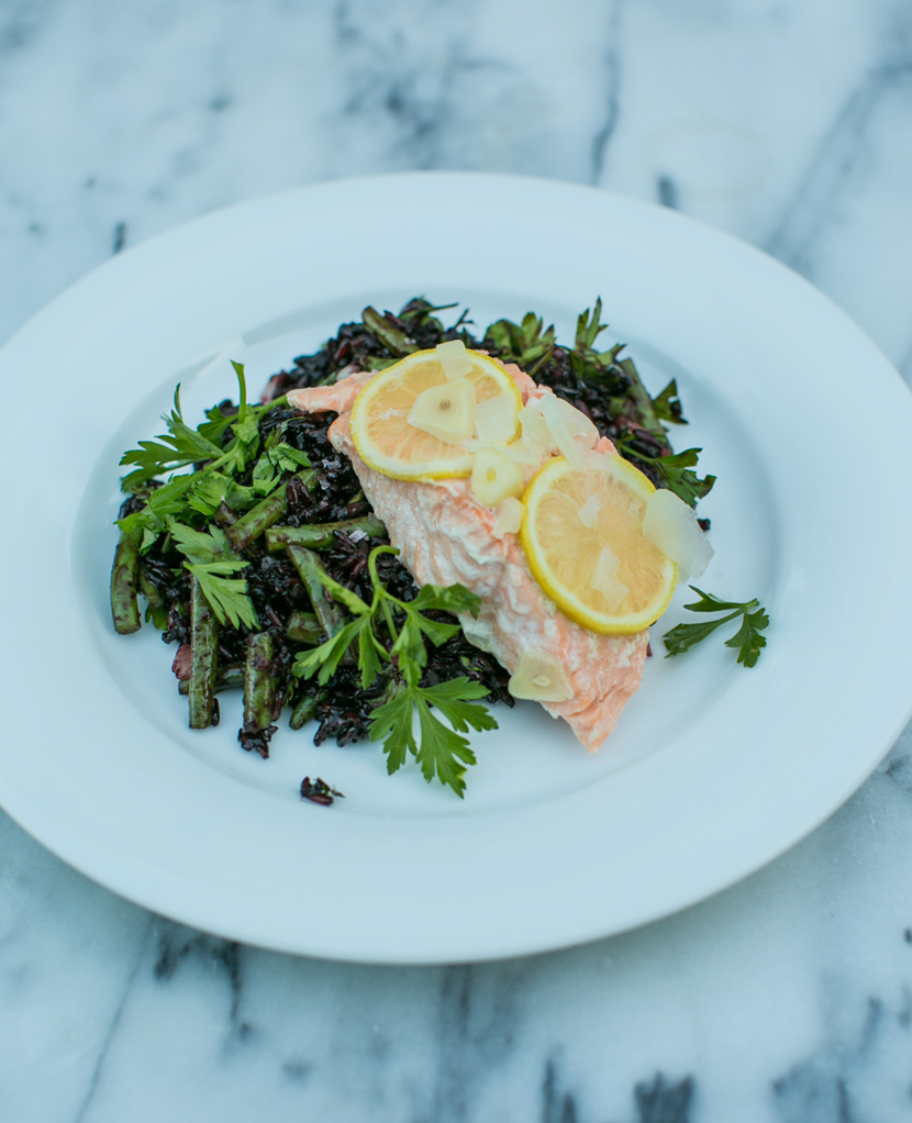 A Simple Salmon Dinner with Target  |  The Fresh Exchange