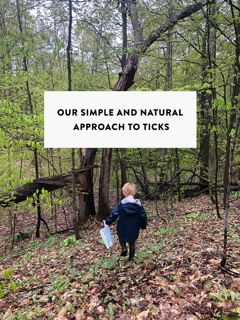 Our Simple and Natural Approach to Ticks. More on The Fresh Exchange.
