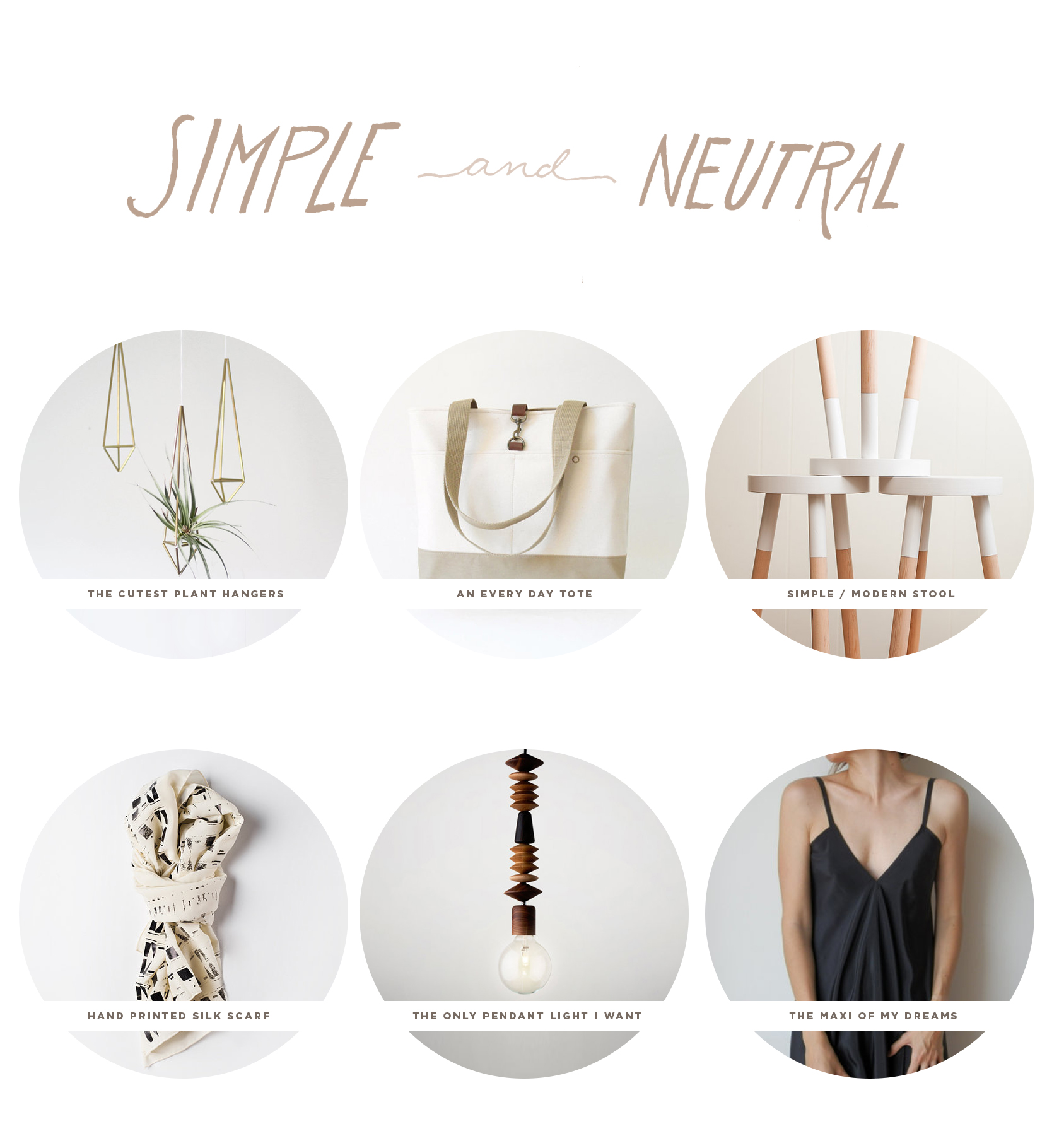 Simple and Neutral  |  The Fresh Exchange