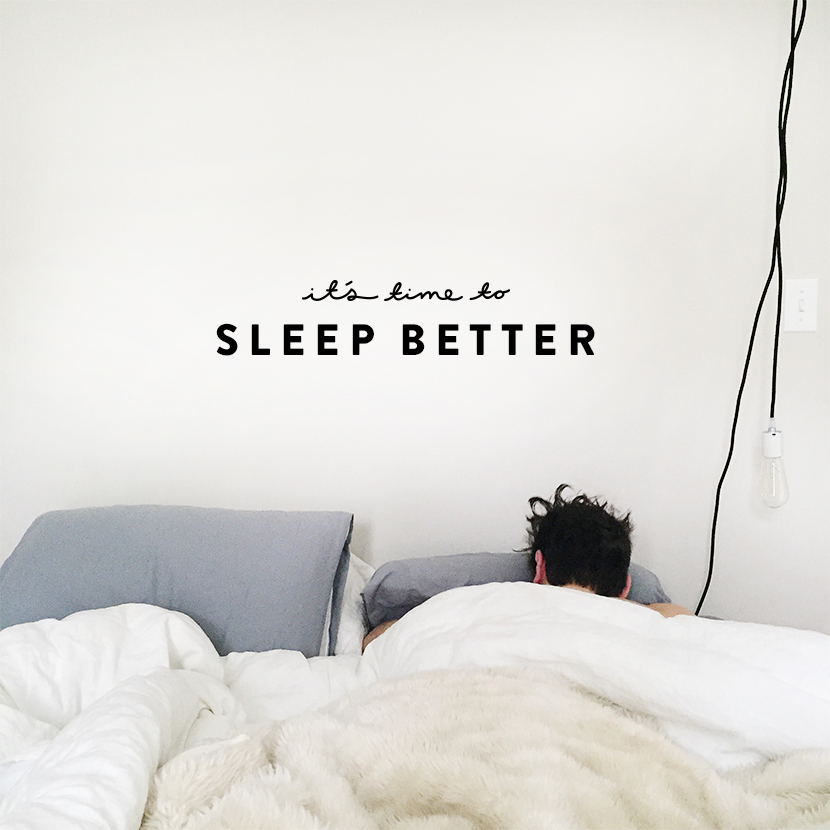 4 Ways to Sleep Better Tonight  |  The Fresh Exchange