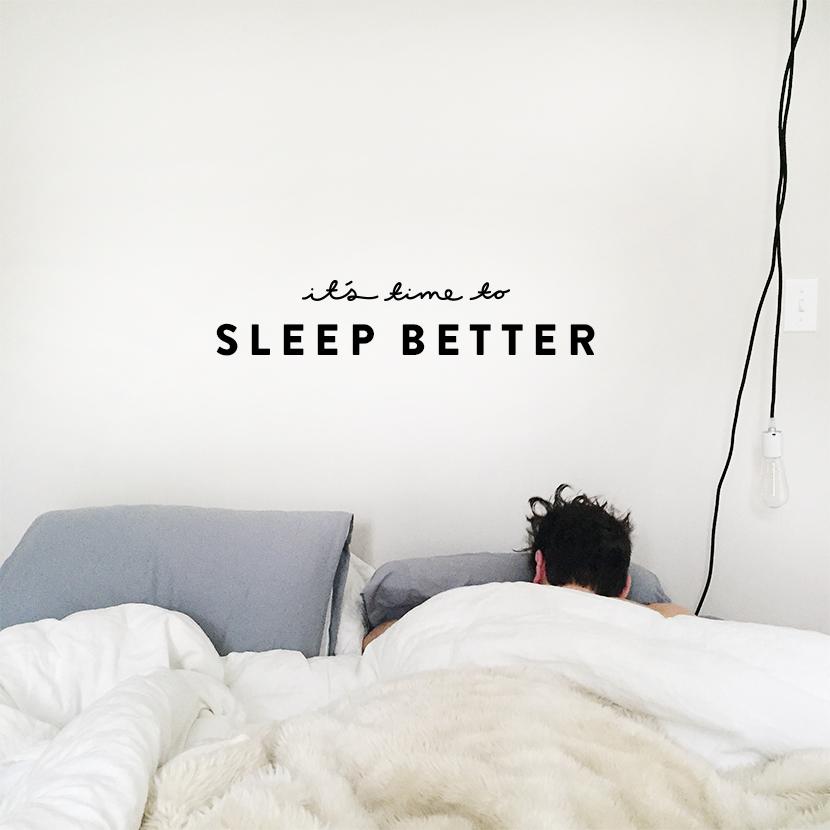 4 Ways to Sleep Better Tonight  |  The Fresh Exchange