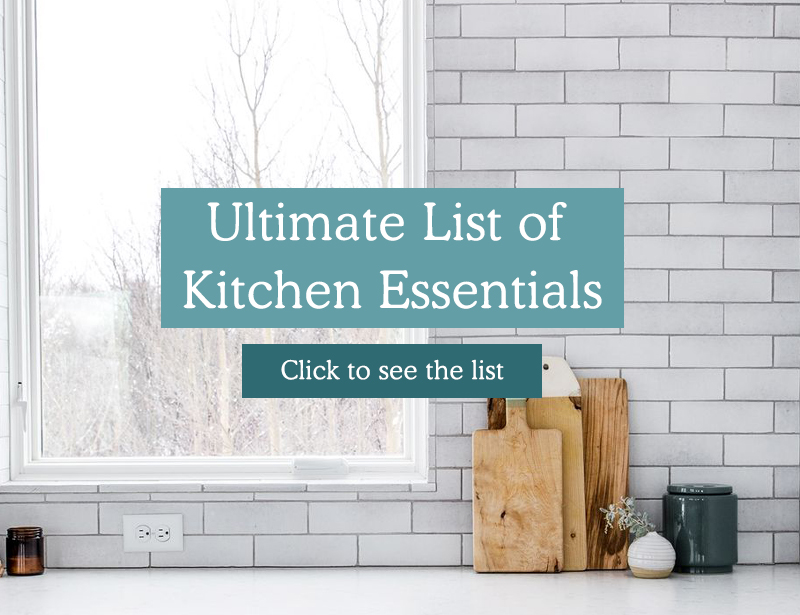 Minimalist and best Small Appliances for your kitchen registry