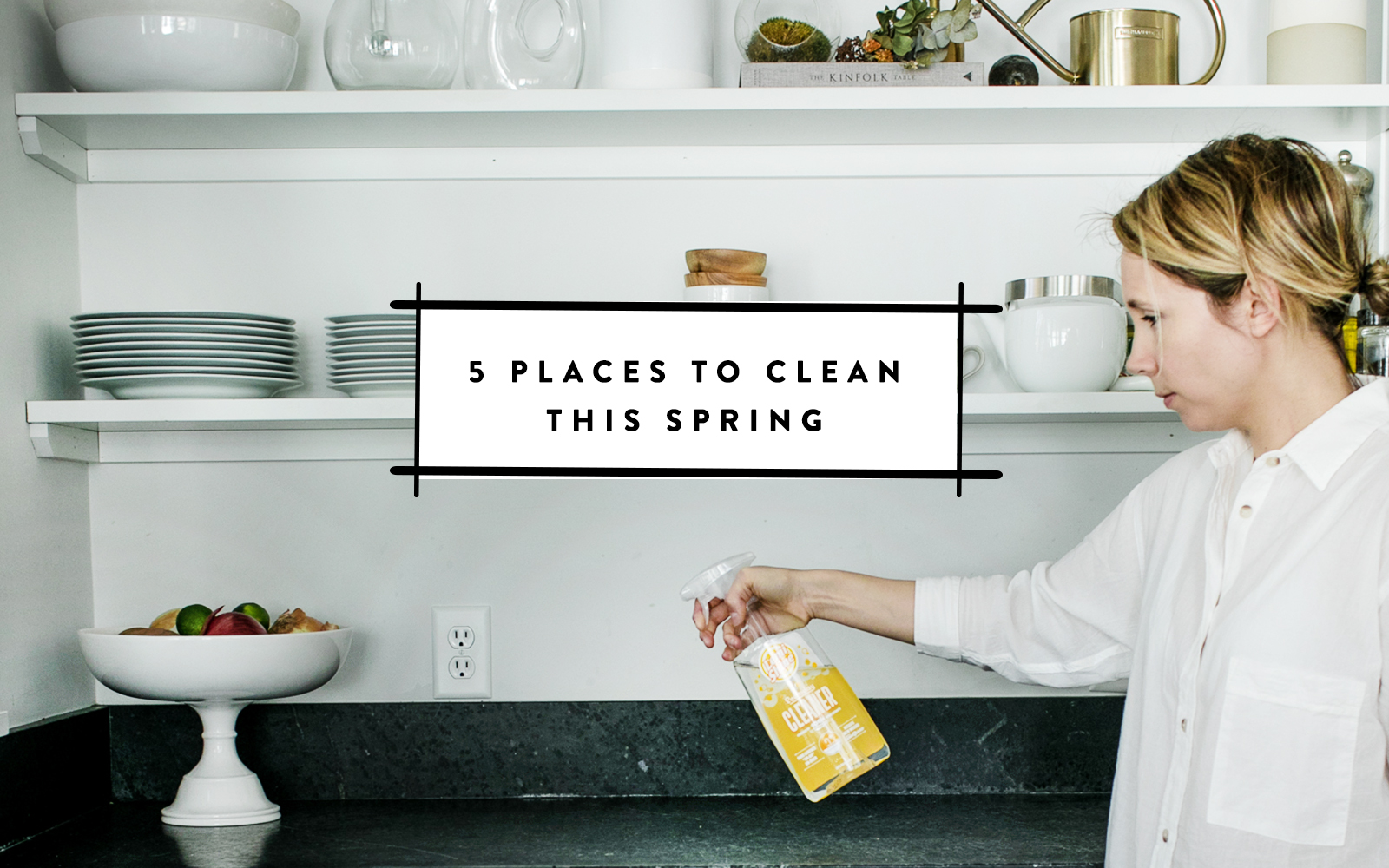 5 places to clean this spring in your home you may not think about. Get all the places on The Fresh Exchange.