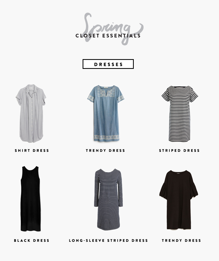 de56f788fc731 The Essential items you need for your closet this spring. A Free Worksheet  is included