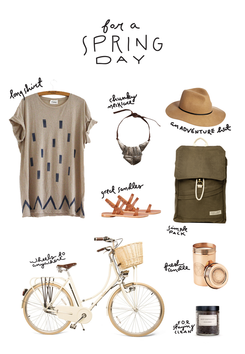 Spring Day Essentials | The Fresh Exchange
