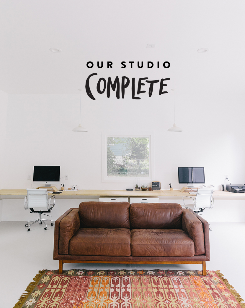 Our Studio: Complete | The Fresh Exchange