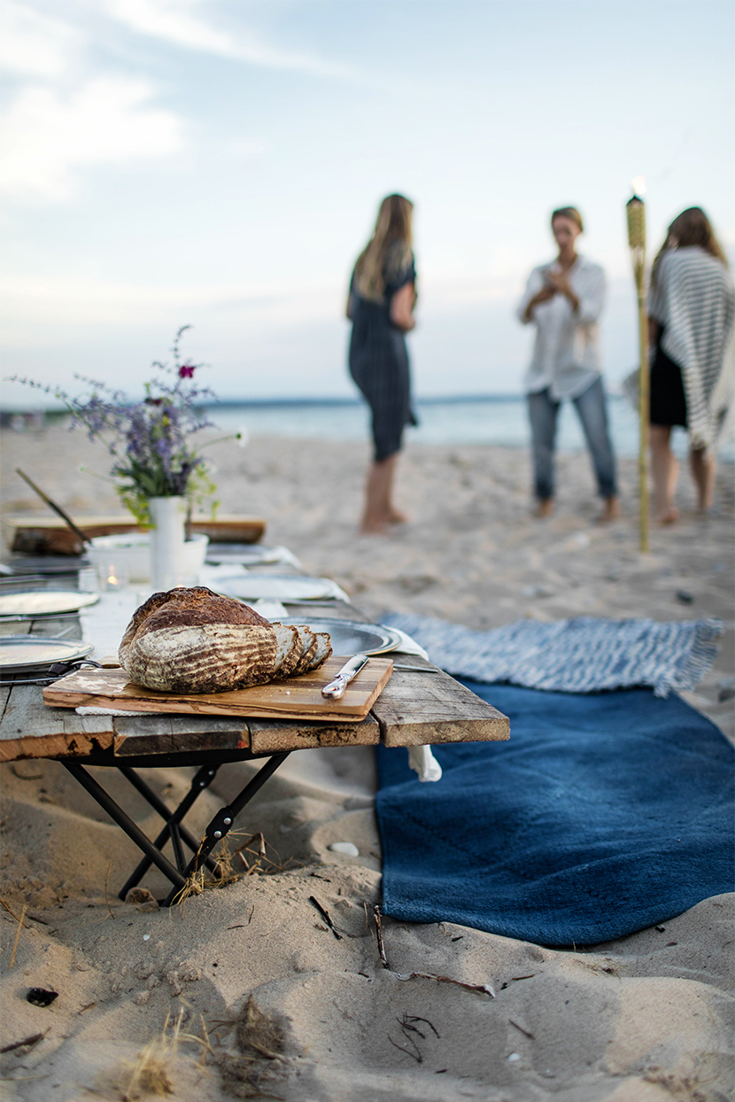 A Simple Evening: A Beach Dinner in Northern Michigan. Traverse City, Michigan Beach Dinner on Lake Michigan. See more on The Fresh Exchange.