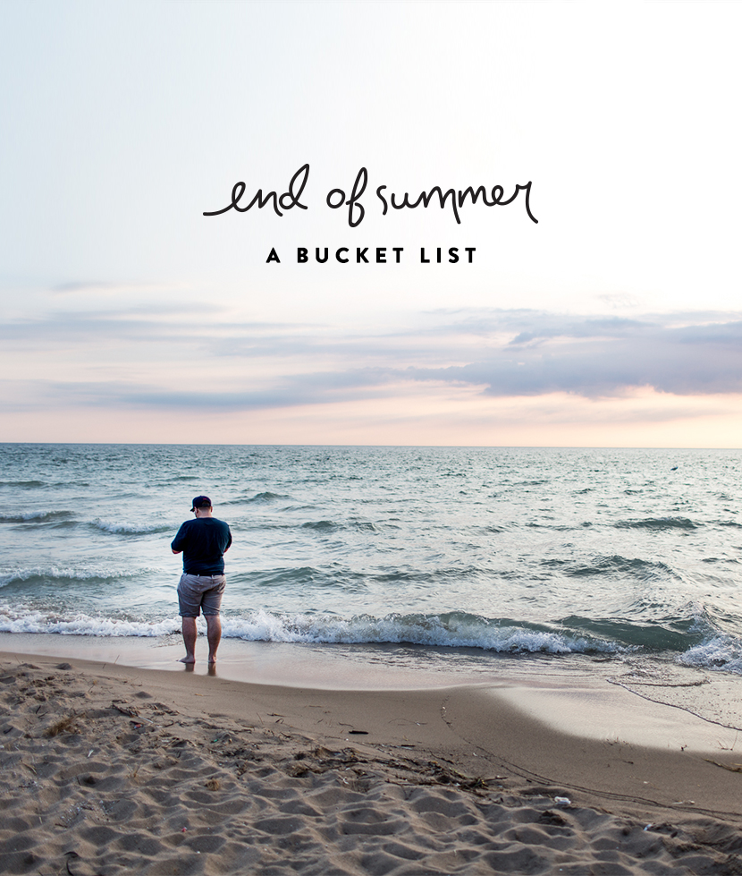 An End of Summer Bucket List | The Fresh Exchange