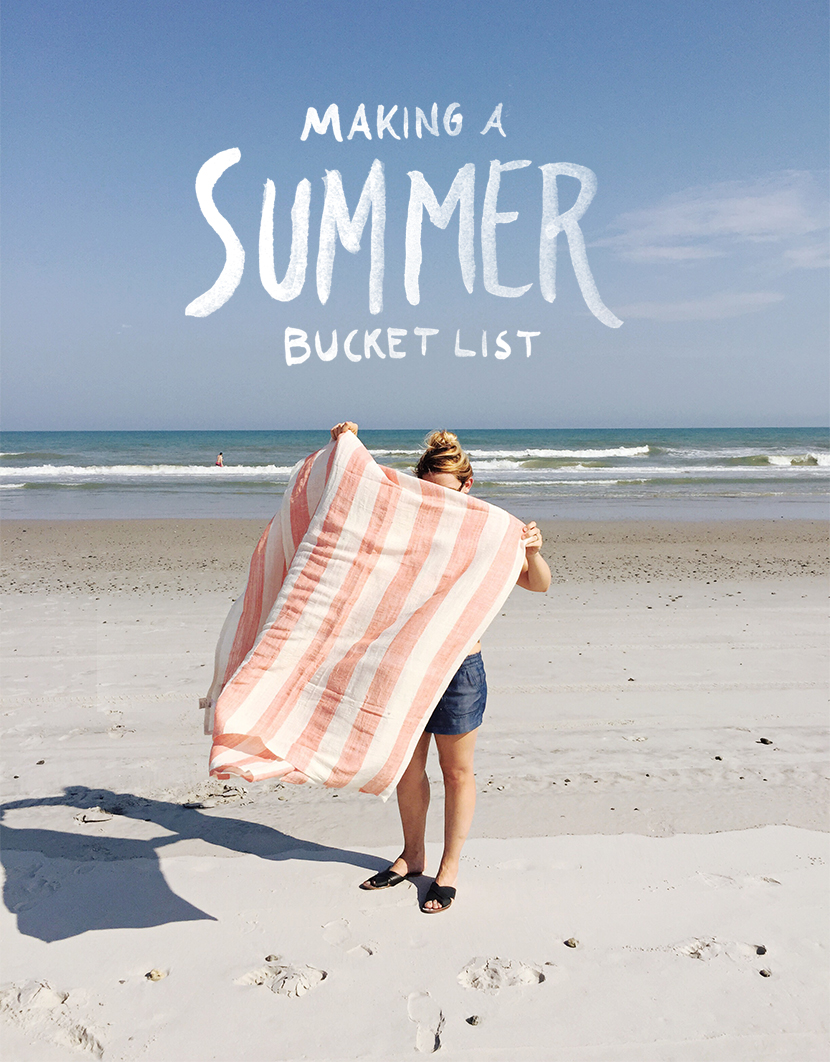 Making A Summer Bucket List  |  The Fresh Exchange
