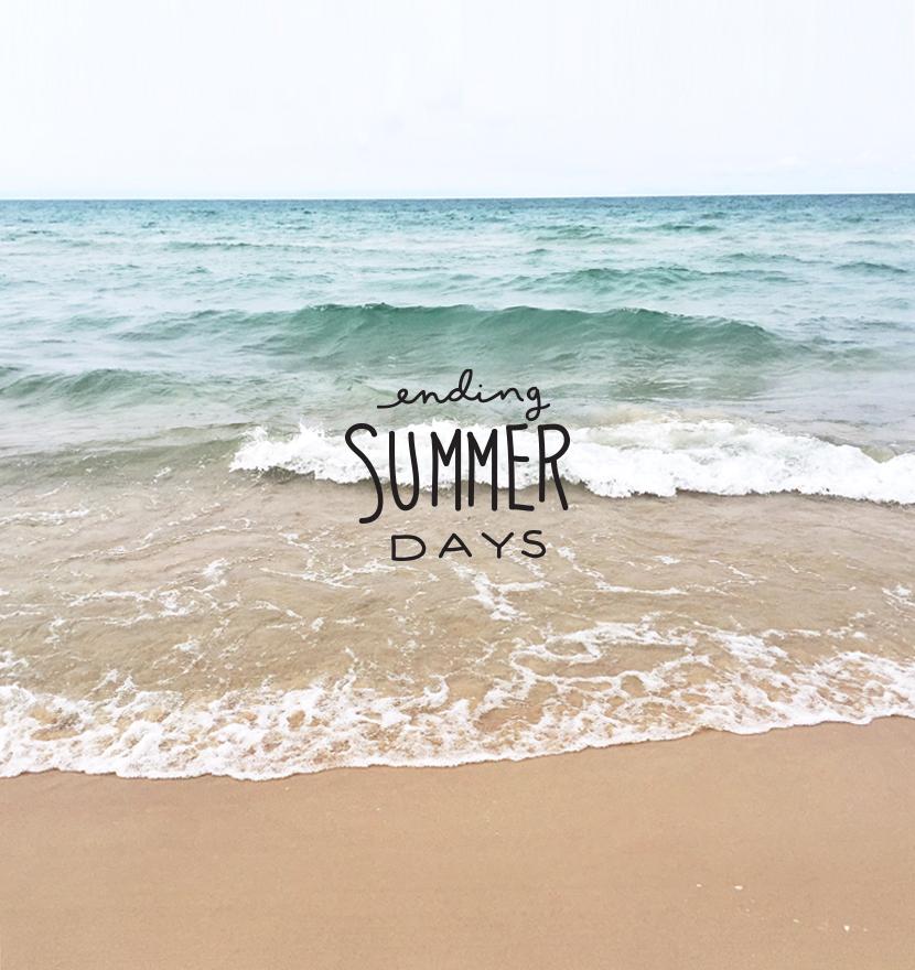 Ending Summer Days | The Fresh Exchange