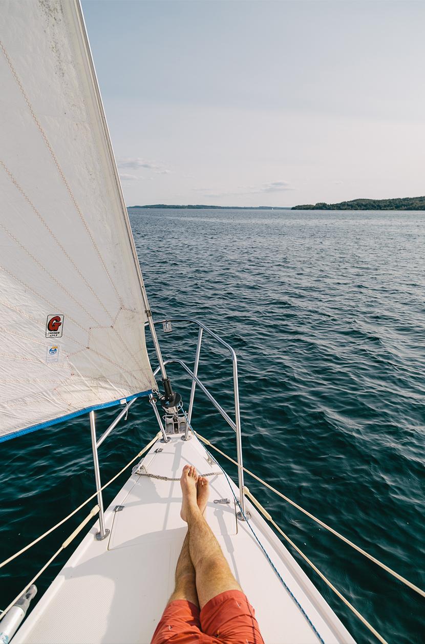 Sailing Lake Michigan | The Fresh Exchange
