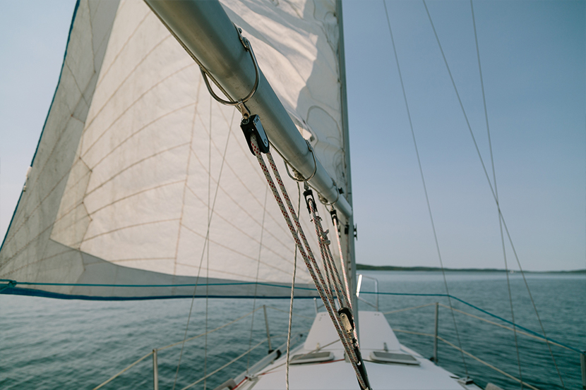 Sailing Lake Michigan  |  The Fresh Exchange