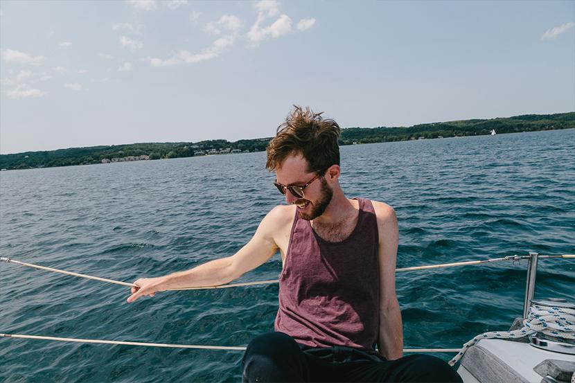 Sailing Lake Michigan   The Fresh Exchange