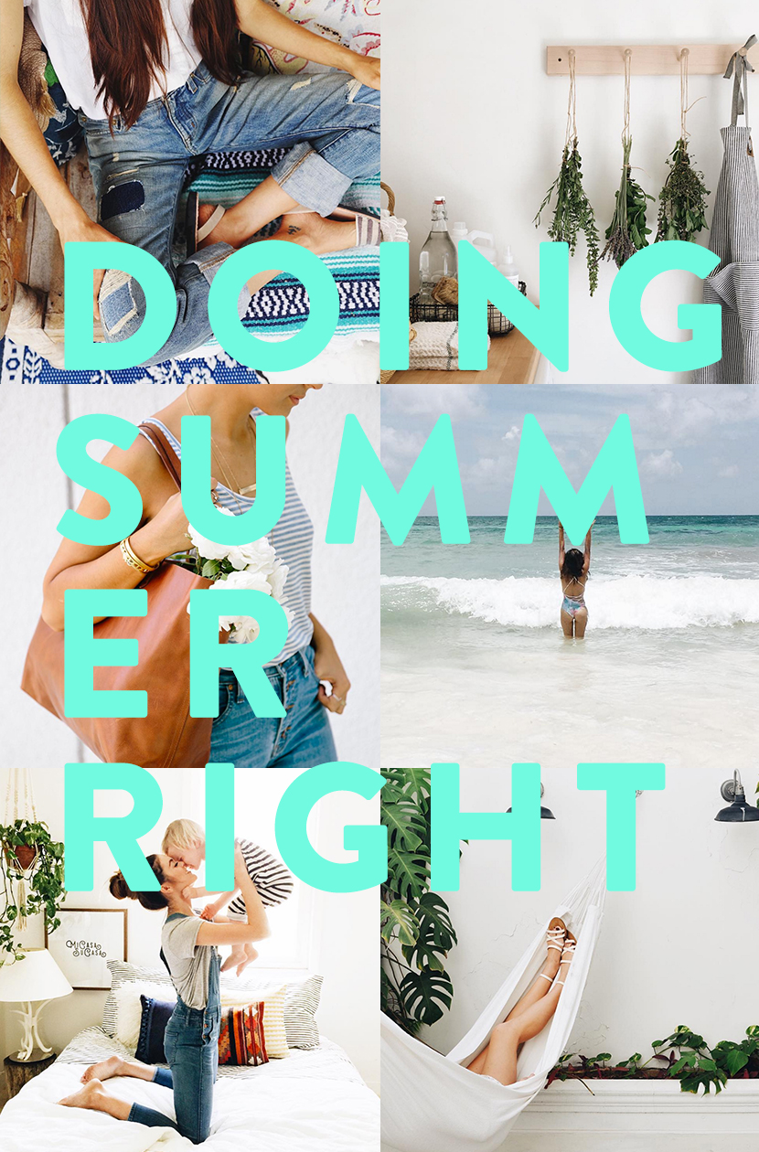 6 Instagrammers Doing Summer Right | The Fresh Exchange