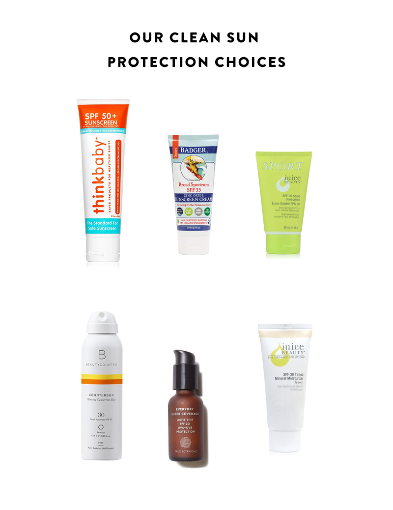 Sunscreen for the whole family on The Fresh Exchange