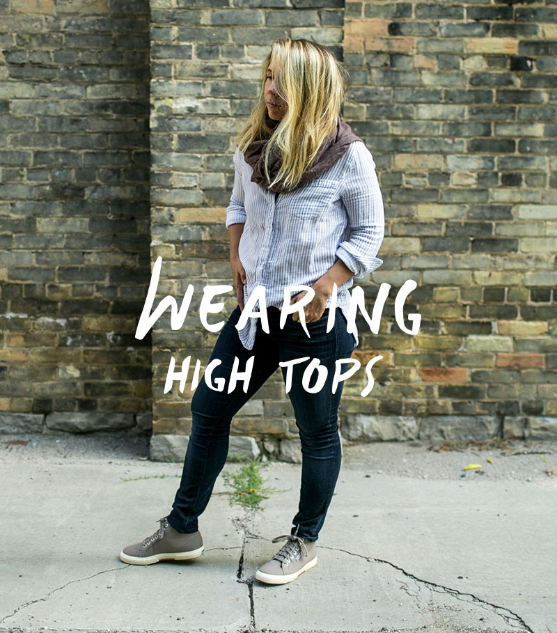 Wearing: High Tops with Superga | The Fresh Exchange