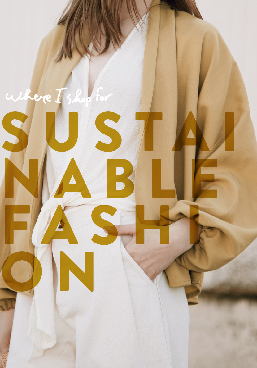 My favorite Sustainable and Small Fashion Brands to start shopping. The full list of stores on The Fresh Exchange.