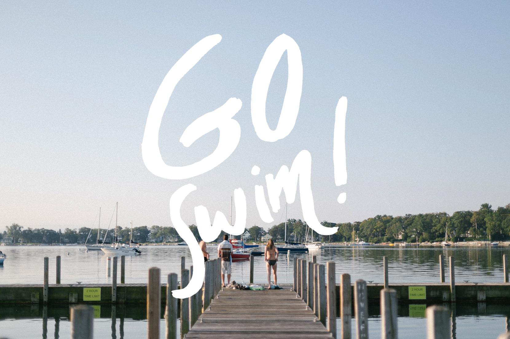 Go Swim  - Harbor Springs, Michigan  |  The Fresh Exchange
