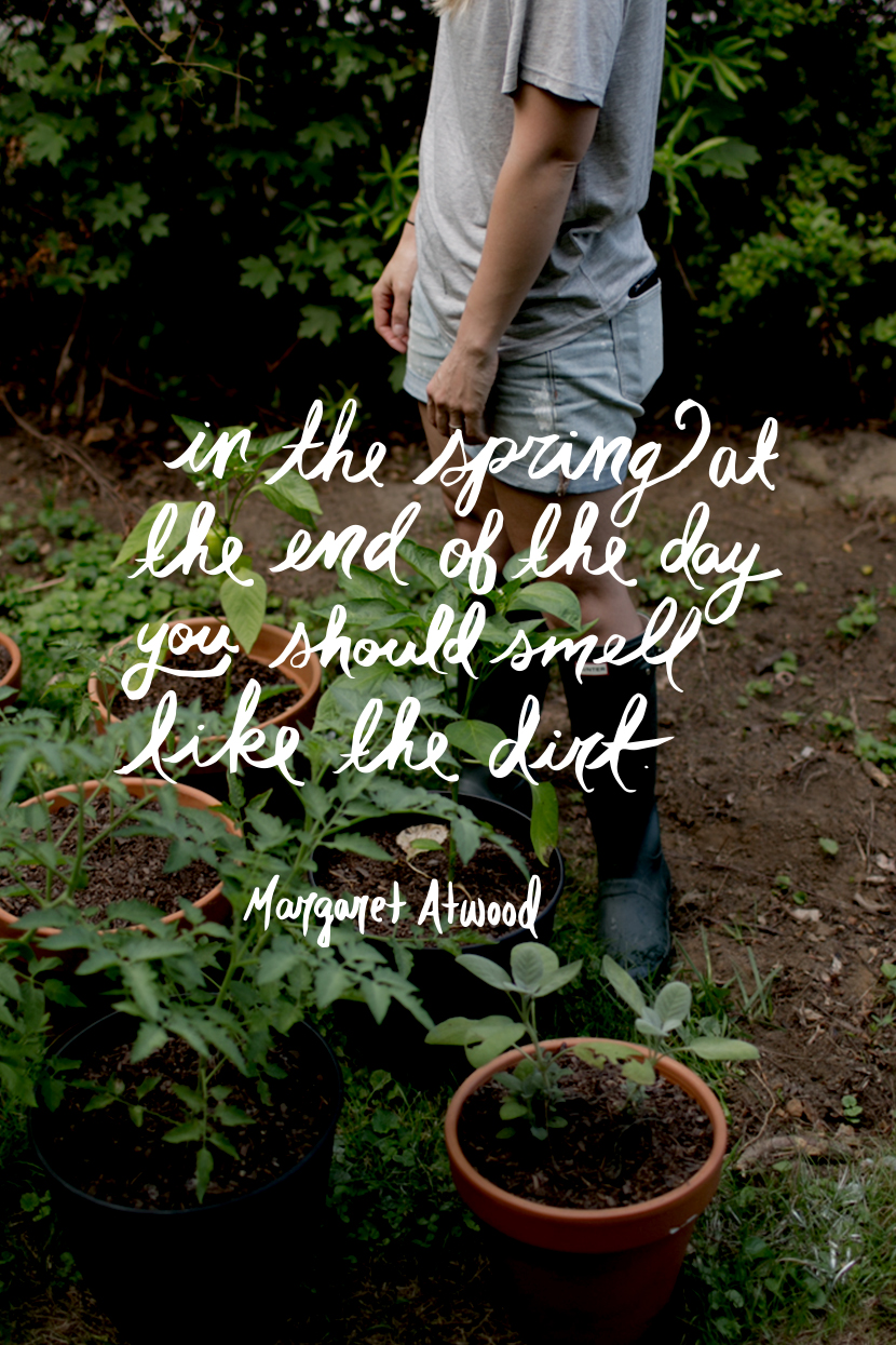Gardening Quotes from The Fresh Exchange. Spring Quotes.