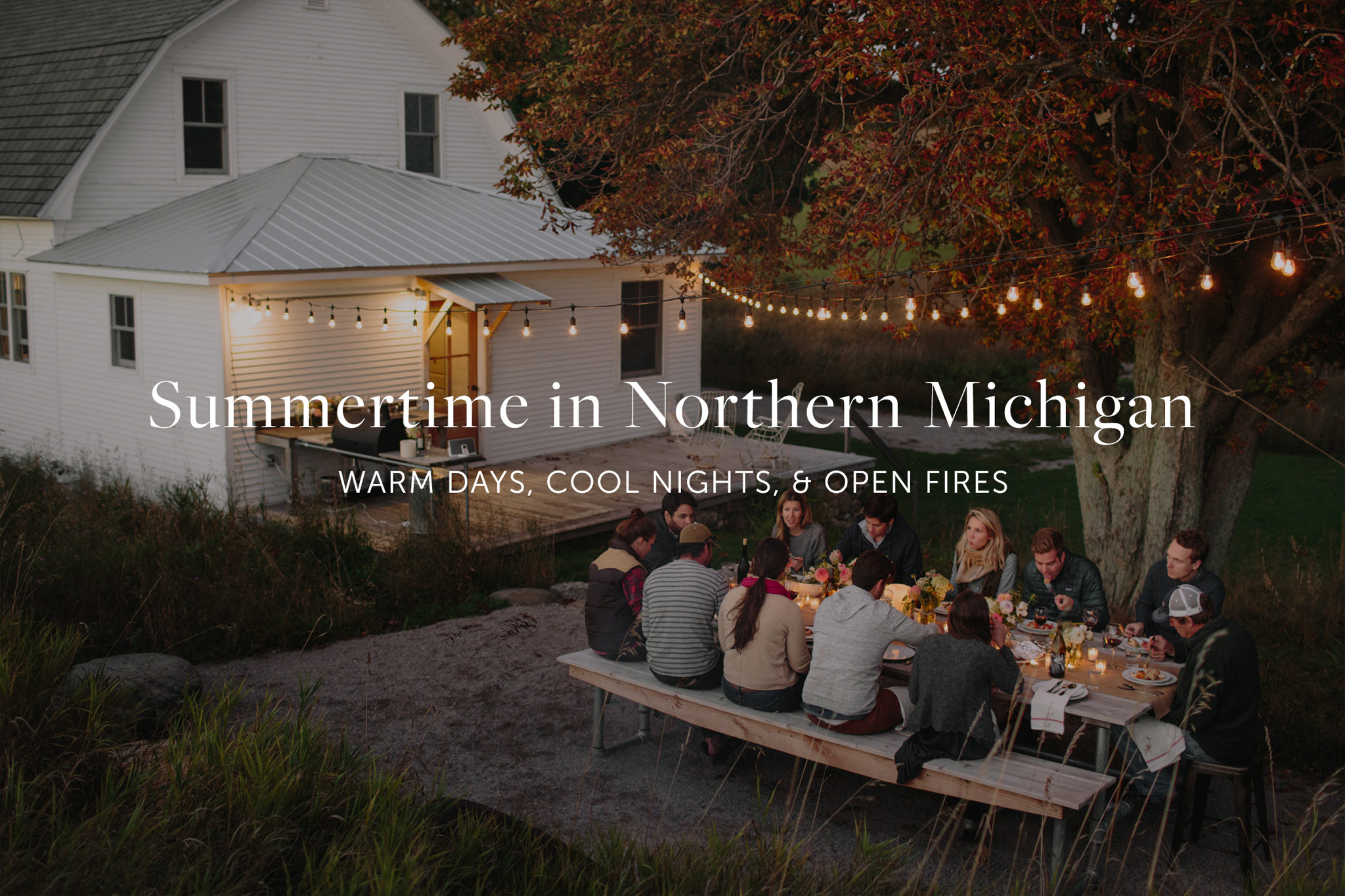 Summertime in Northern Michigan | The Fresh Exchange