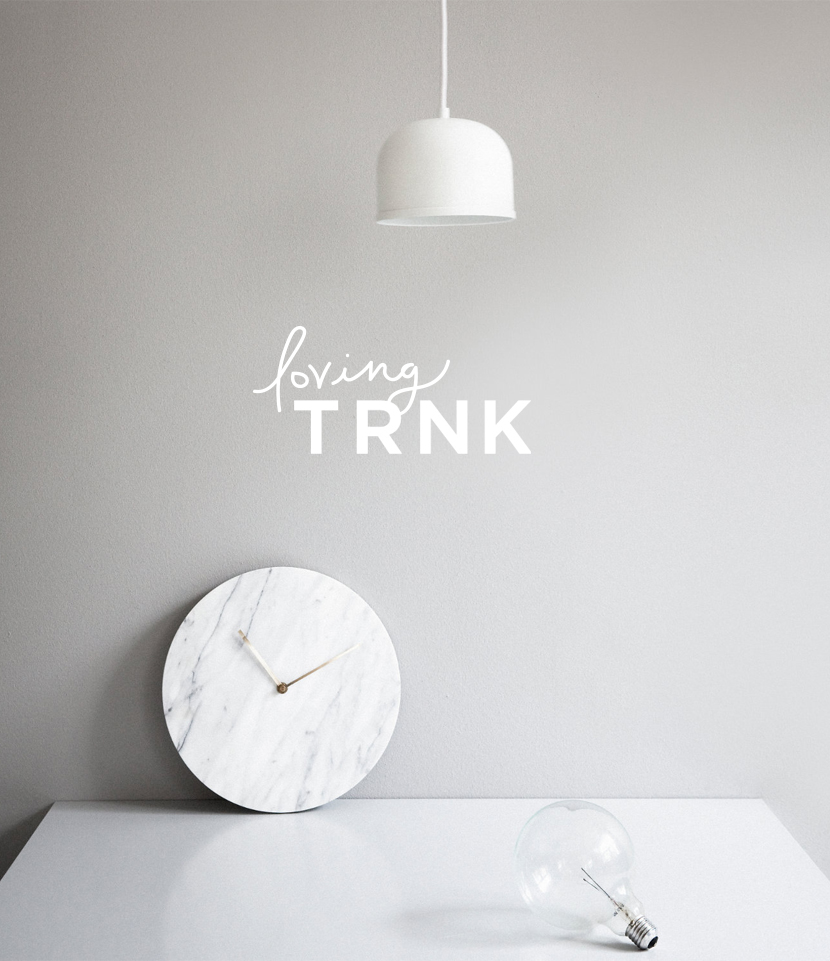 Loving Now: TRNK | The Fresh Exchange